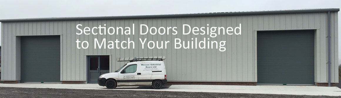 Sectional Doors Designed to Match Your Building, Factory or Business Unit - Wessex Industrial Doors