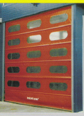 Instant Pass Rapid Roll Doors Technical Details
