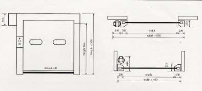General Purpose Rapid Roll Doors Technical Details 2