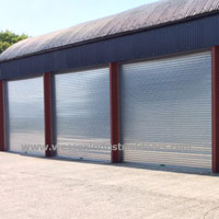 UK Steel Roller Shutter Doors