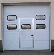 Industrial Sectional Overhead Doors for Business Units