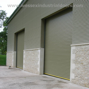 Insulated Industrial Doors for Winter and Summer