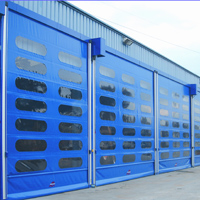 Rapid Action Roller Shutter Doors for Warehouses