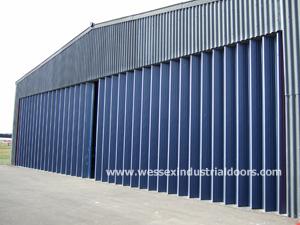 Industrial Folding Sliding Doors UK