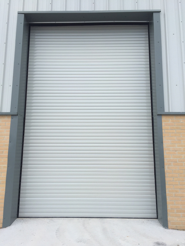 High Roller Shutter Door with Matched Finish