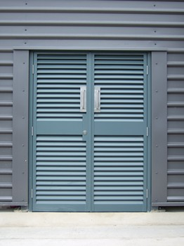 Fully Louvered Doorset