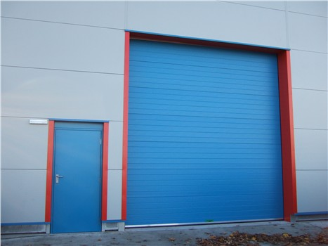 Sectional Overhead Door and Security Door