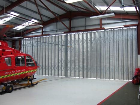Devon-Air-Ambulance-Aircraft-Hangar-Doors