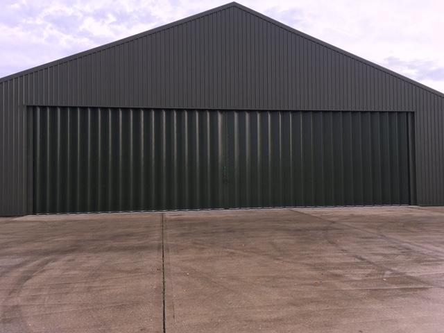 Goodwood Aircraft Hangar doors