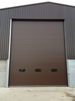 Sectional Door - Colour coded