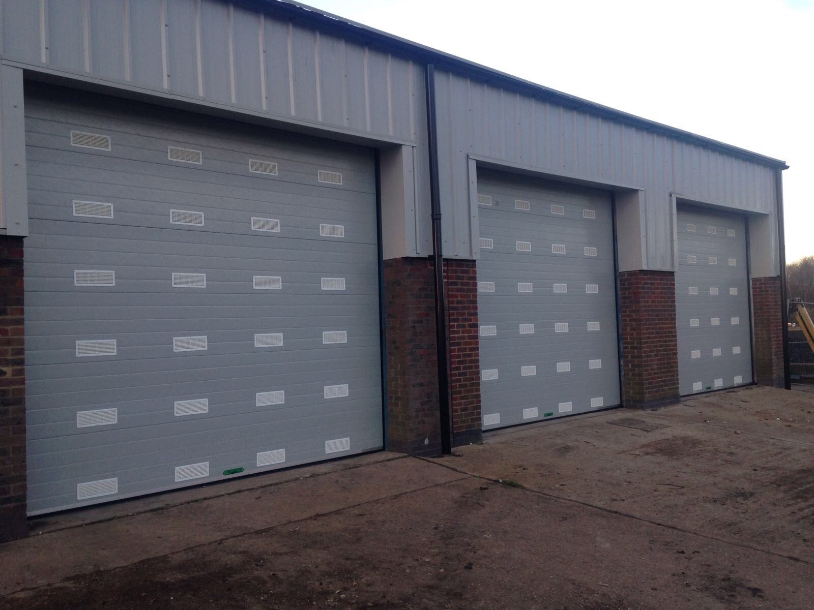 Vented Sectional Doors