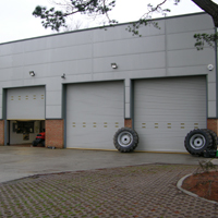 Industrial Strength Commercial Garage Doors