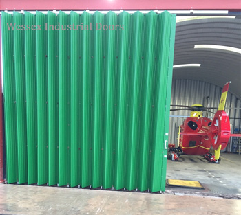 Large Folding Sliding Aircraft Hangar Doors