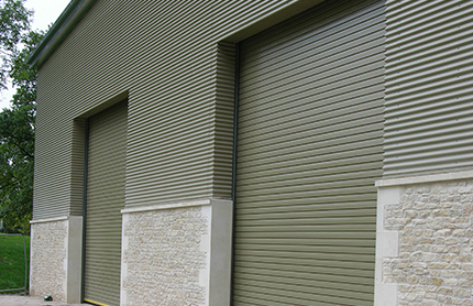 Motorised Warehouse Roller Doors