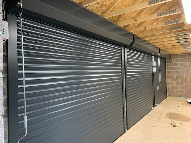 Insulated Garage Doors - Inside