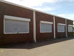 Electric Security Shutters