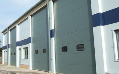 Industrial Doors for all types of businesses and buildings. Wessex Industrial Doors
