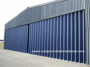 Large Sliding Folding Doors Wessex Industrial Doors